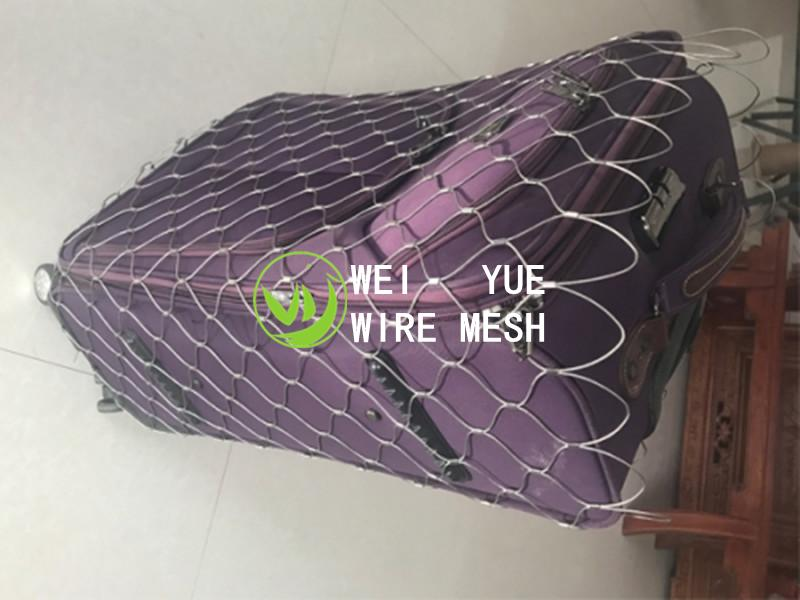 Stainless steel cord net pockets